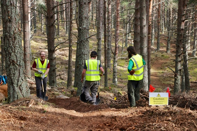 Take Action - Sign up to volunteer at our next maintenance event!