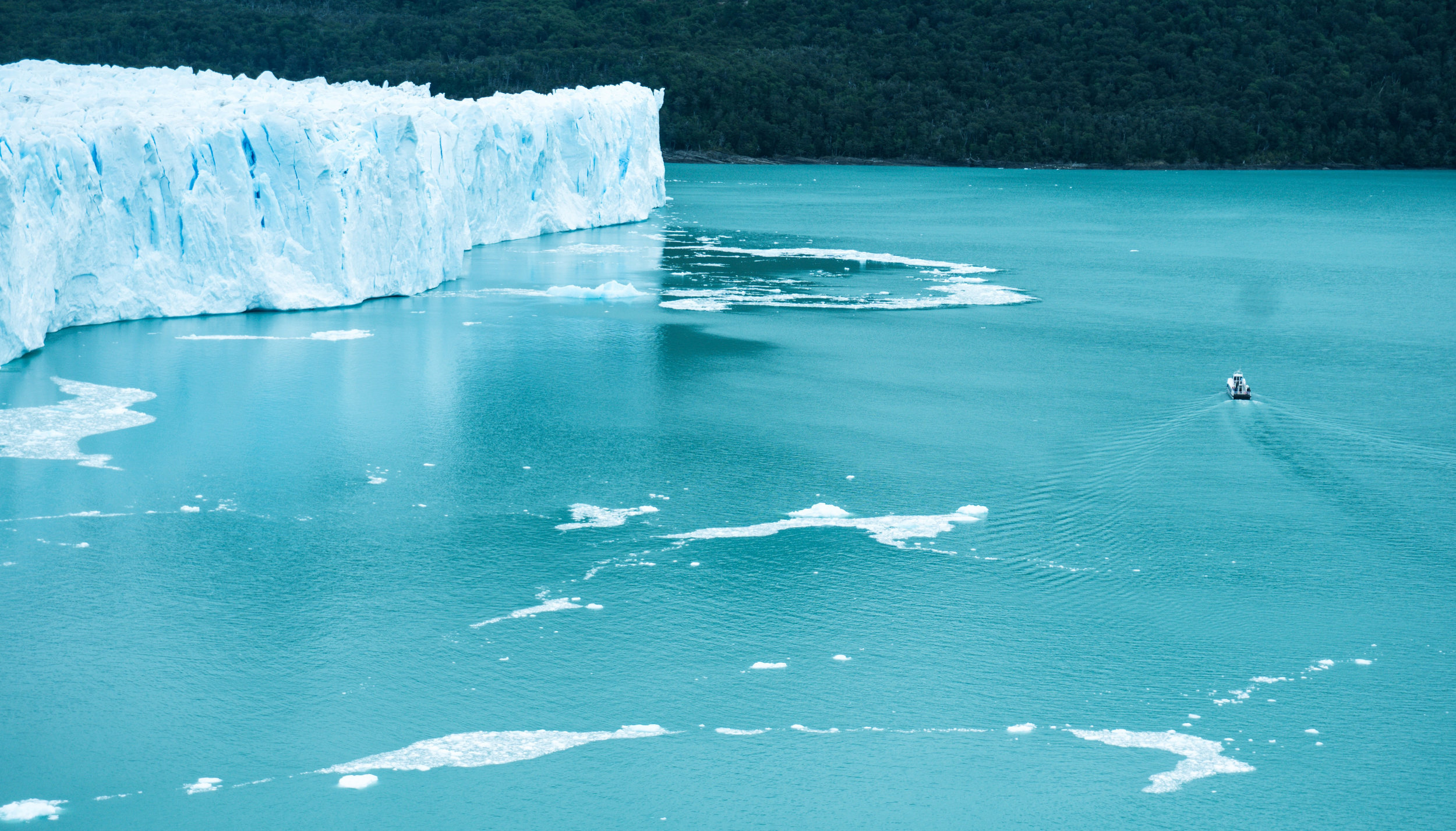 My color inspiration comes from the melting glaciers that I really hope will recover.