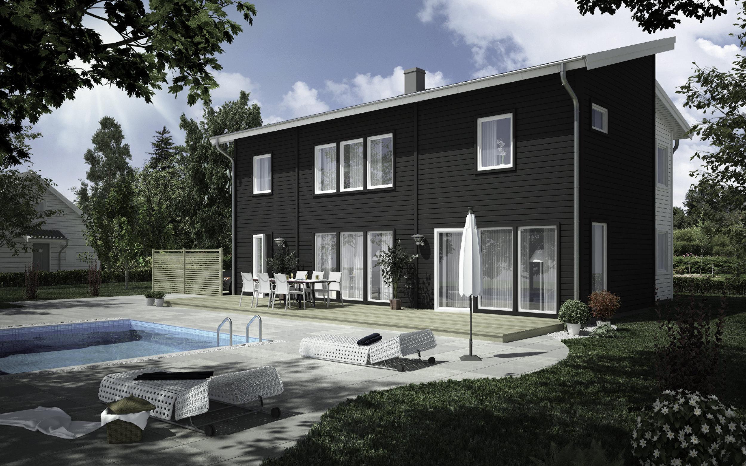 VILLA STRÖMSBERG  2-planshus Boyta: 178,4 m2 4 sovrum