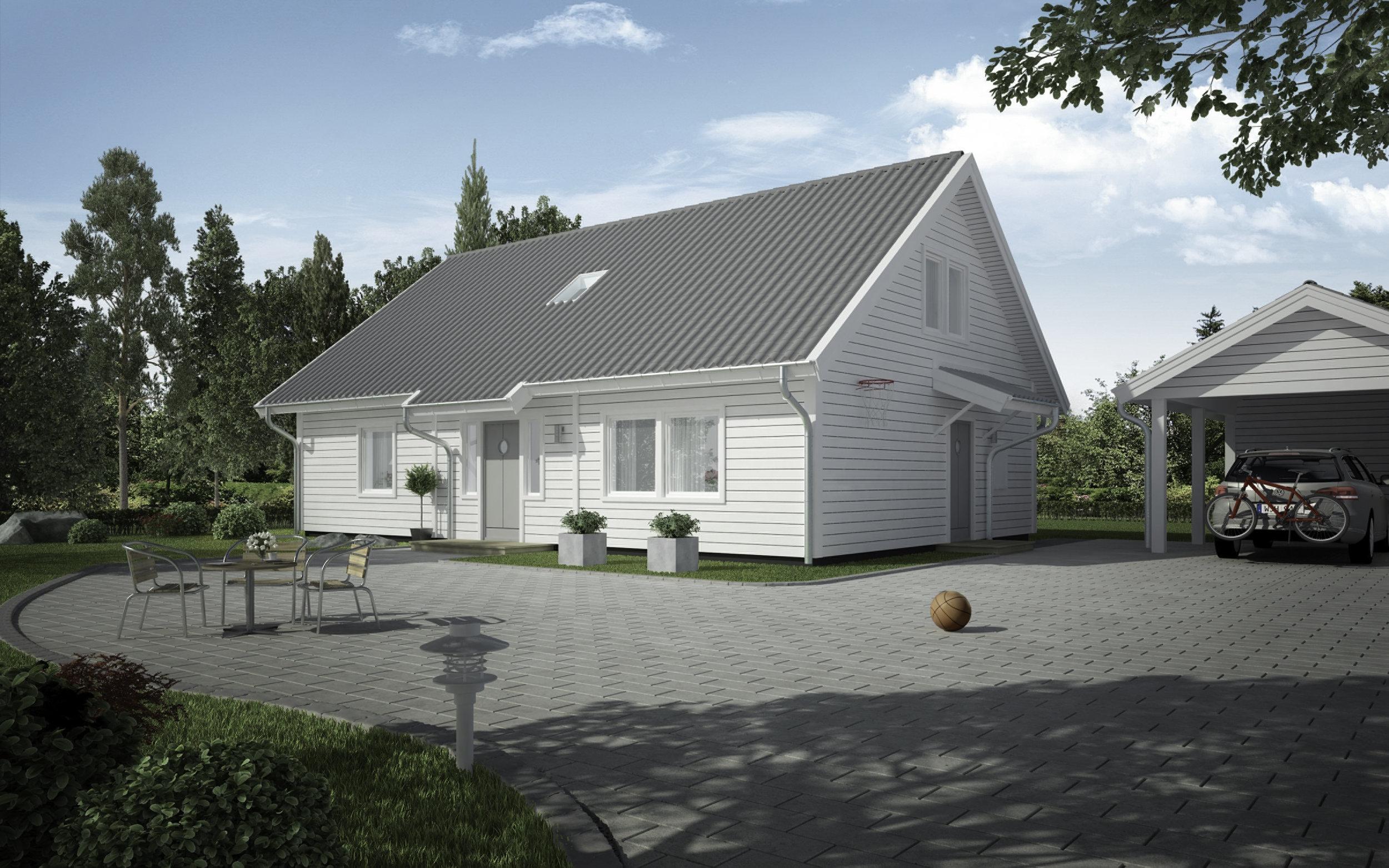 VILLA NYGÅRD  1,5-planshus Boyta: 148,8 m2 5 sovrum