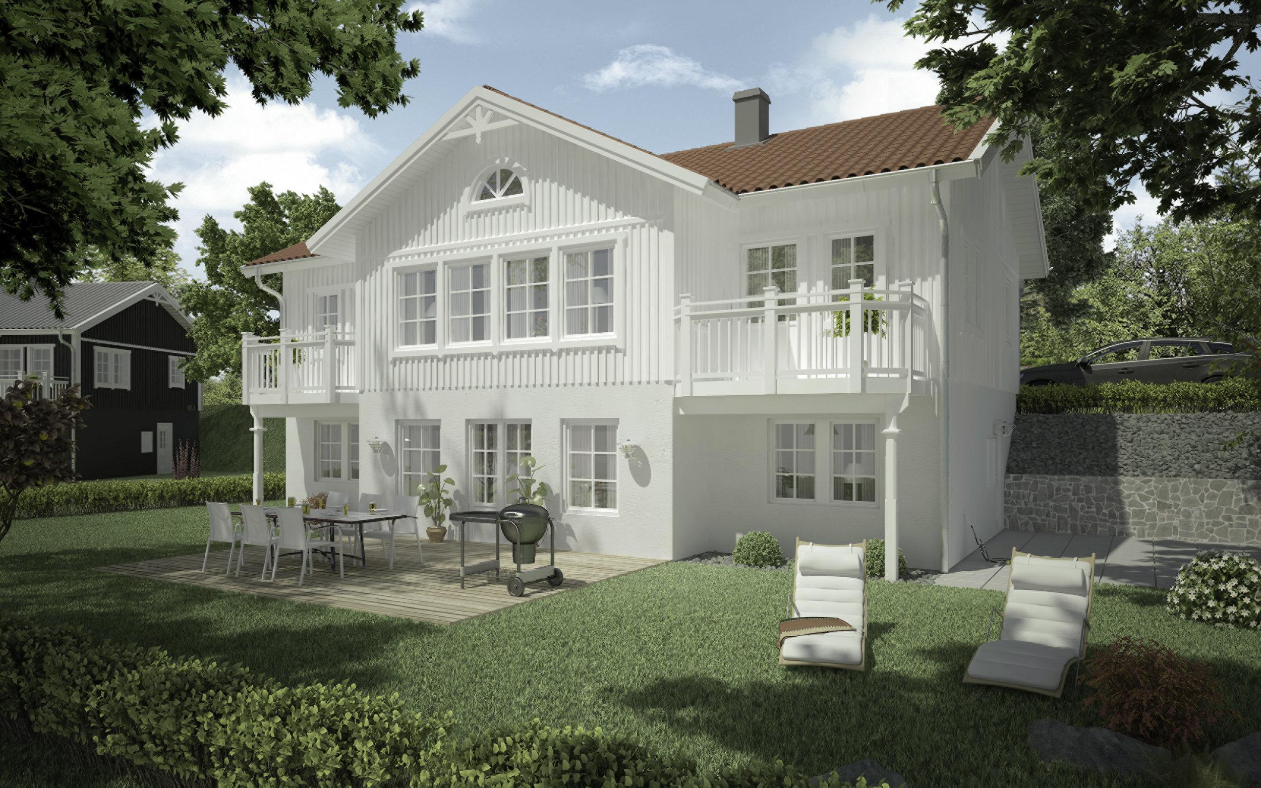 VILLA FURULIDEN  Suterränghus Boyta: 192,8 m2 4 sovrum