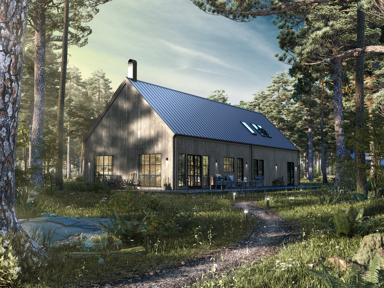 Villa Enhagen  1,5-planshus Boyta 175,8 m2 3-4 sovrum