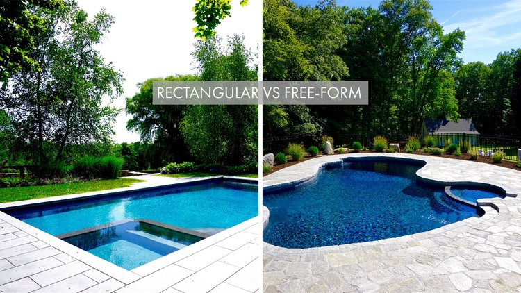 Rectangular vs Free-Form: Which is best for your backyard ...