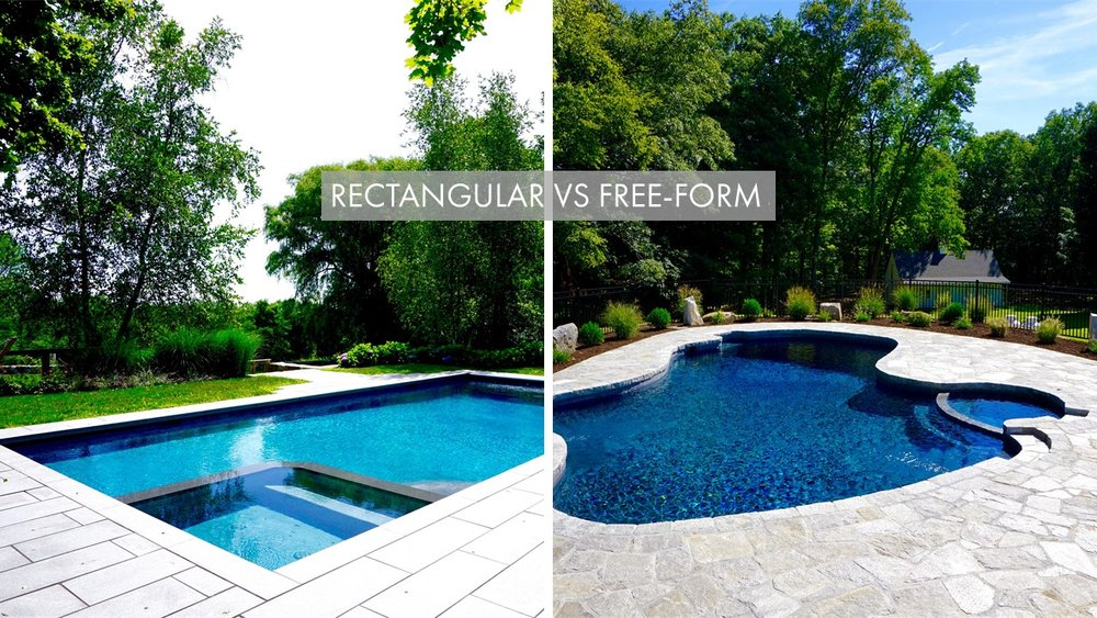 Rectangular Vs Free Form Which Is Best For Your Backyard Litchfield County Pools
