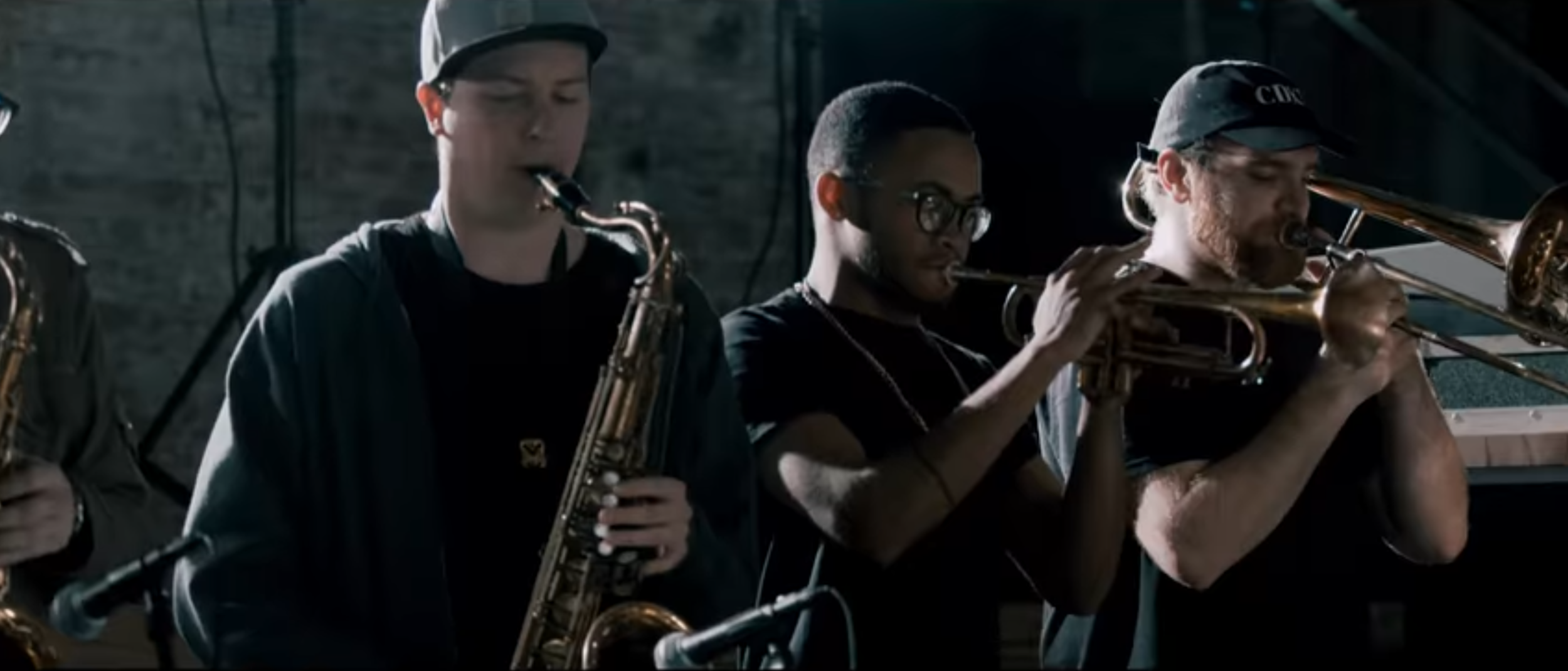 Blue Pools music video