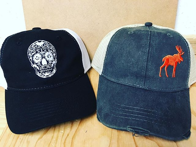 Whether you want the Far North Classic Moose or a Sugar Skull we can make it yours #makeityours