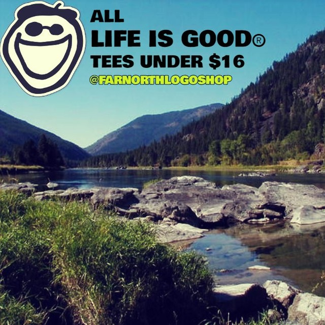 Stock up now! Life is Good always donates 10% of its profits to help kids in need. Through their signature #PlaymakerProgram, the #LifeisGoodCo #KidsFoundation supports men & women who dedicate their careers to helping children heal from the devastating impact of early childhood trauma. 🙌 🙌🙌