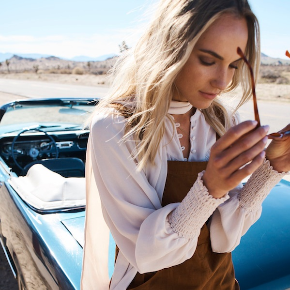 SHOP - wanderlust blouse