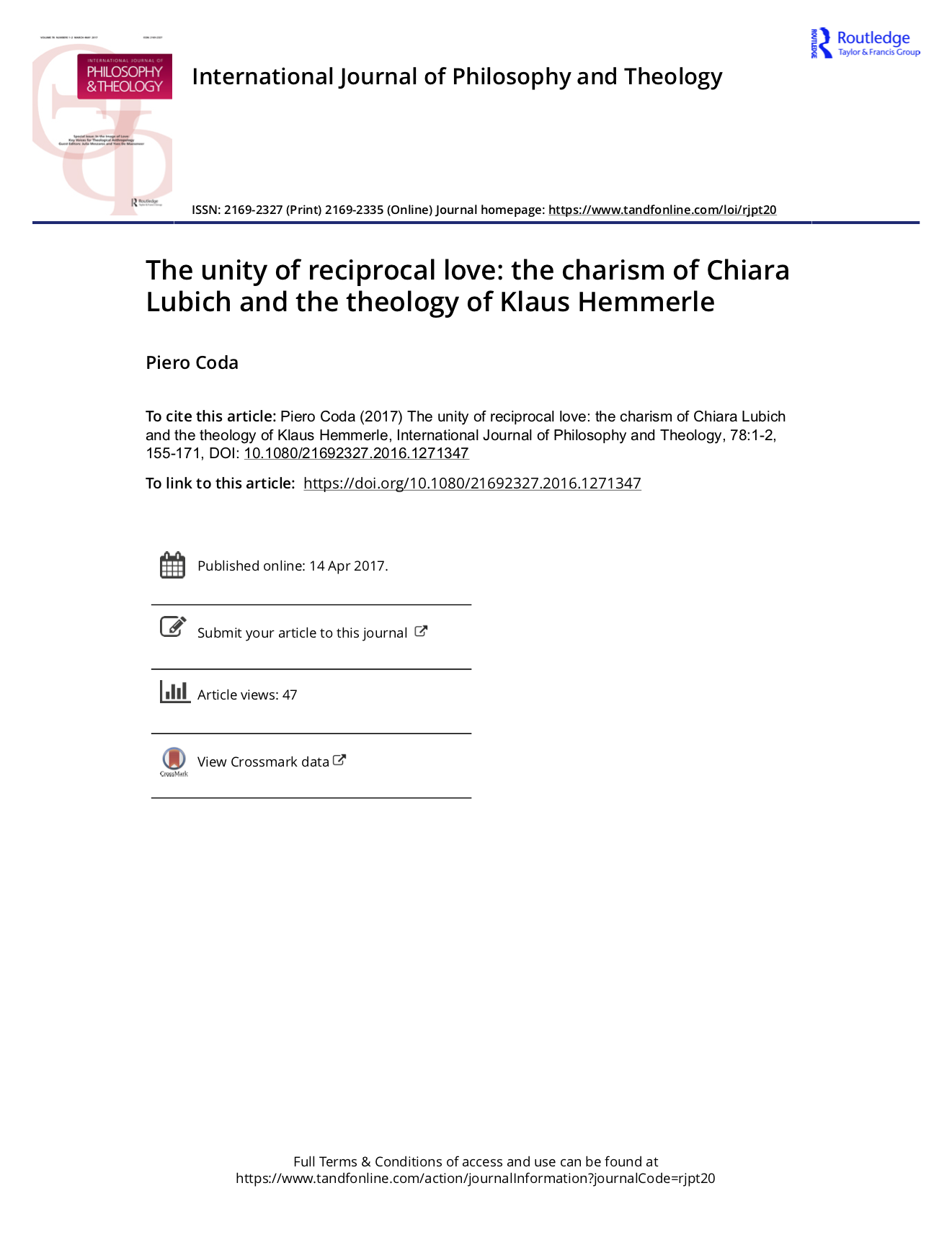 The unity of reciprocal love the charism of Chiara Lubich and the theology of Klaus Hemmerle-2.png