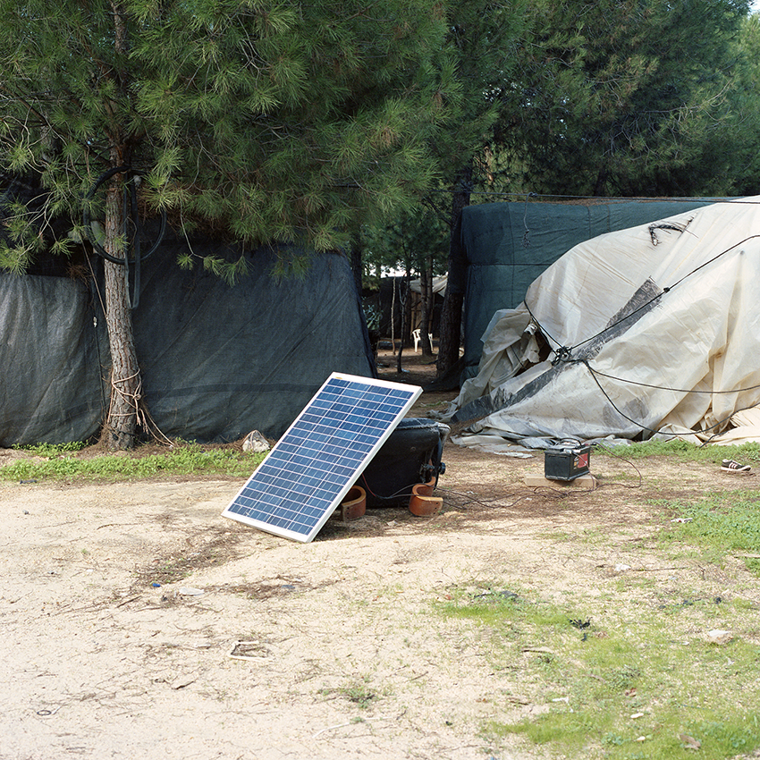 Solar Pannel in Lucena del Puerto (HU) Settlement, 2018