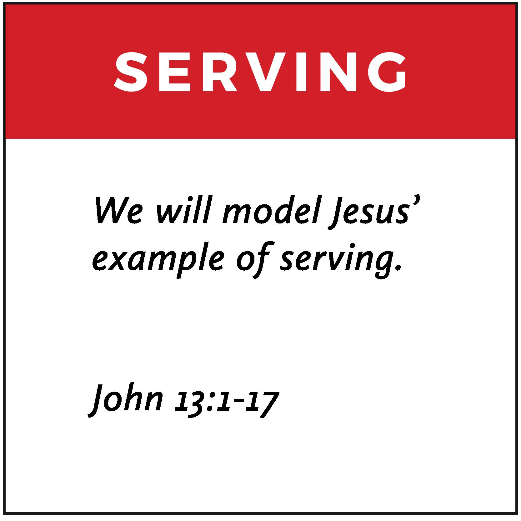 Serving | FCA Values