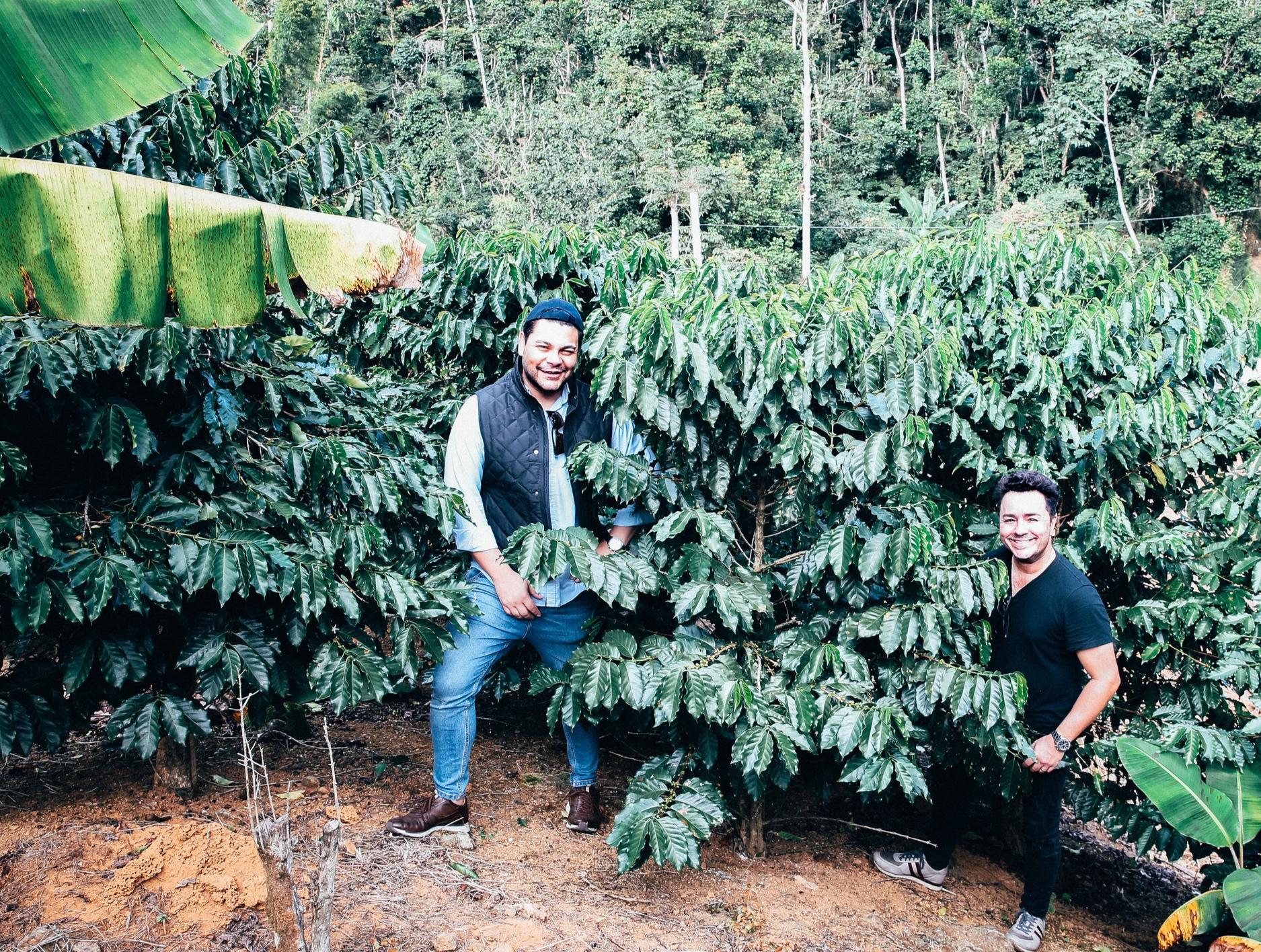 Meet the owners of Hacienda Iluminada & 787 Coffee: Brandon & Sam