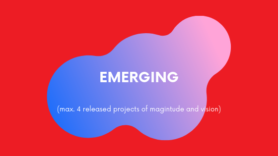 (max. 4 released projects of magnitude and vision)