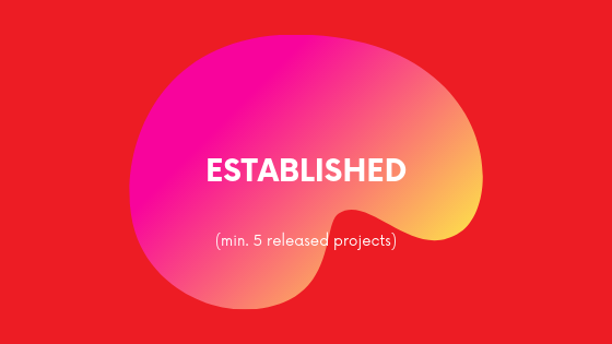 (min. 5 released projects)
