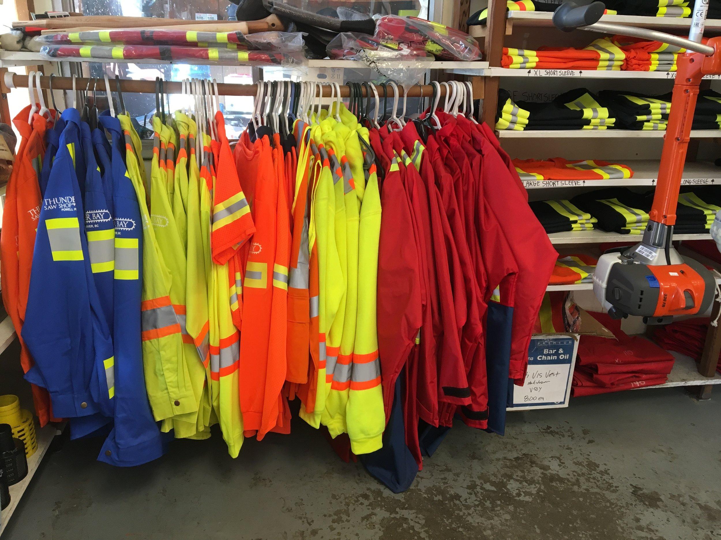 HI-VIS SAFETY CLOTHES