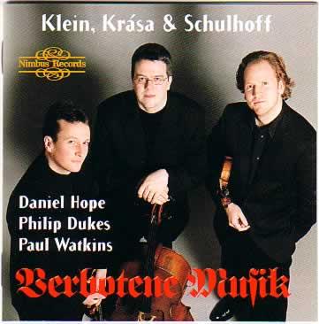 Nimbus Records: NI 5702  Werke von Schulhoff, Klein und Krása sind auf folgender CD Produktion zu hören:  Nimbus Records: NI 5702