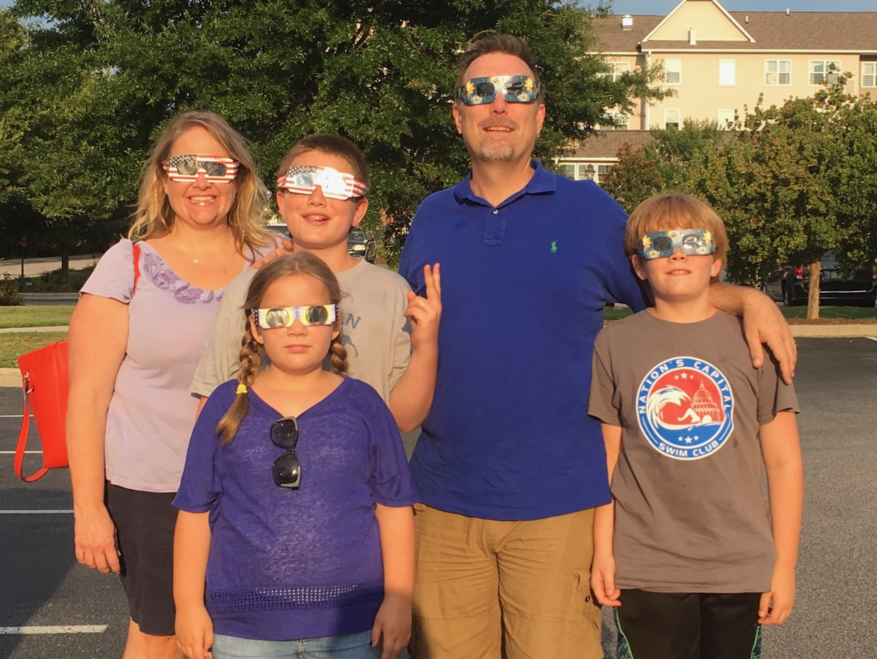 On our way to the Great American Eclipse in 2017.