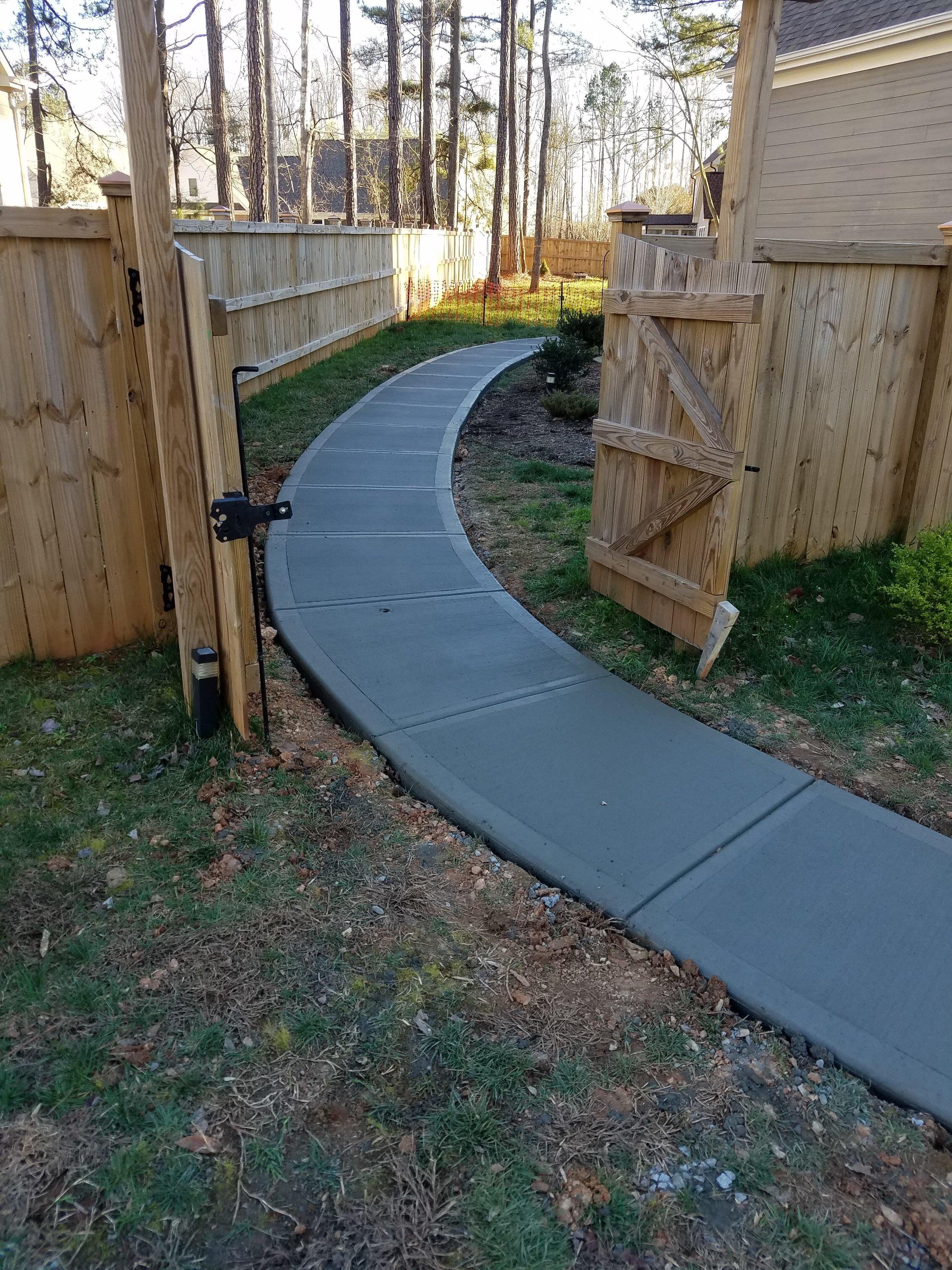 Concrete Sidewalk Contractor Houston Tx Traditional