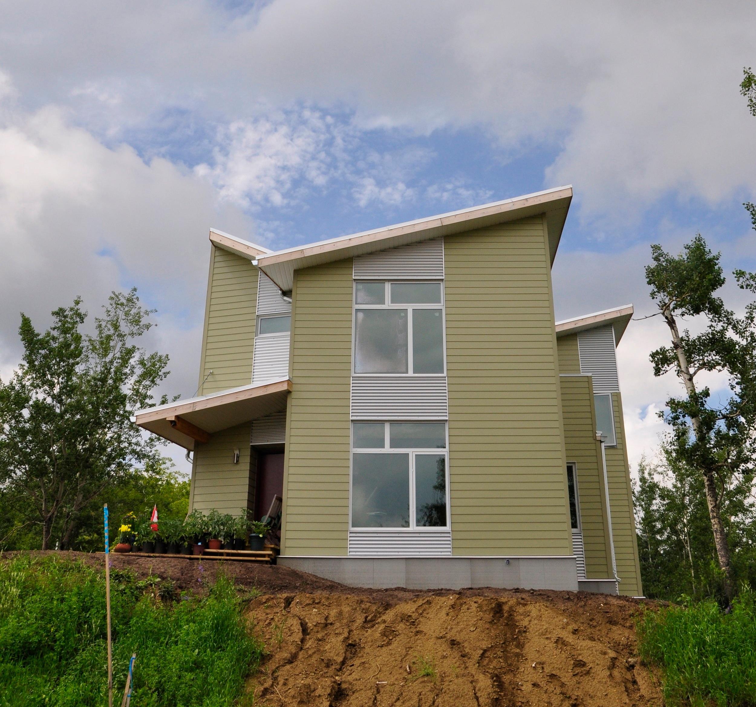 Athabasca Netzero-ready Home