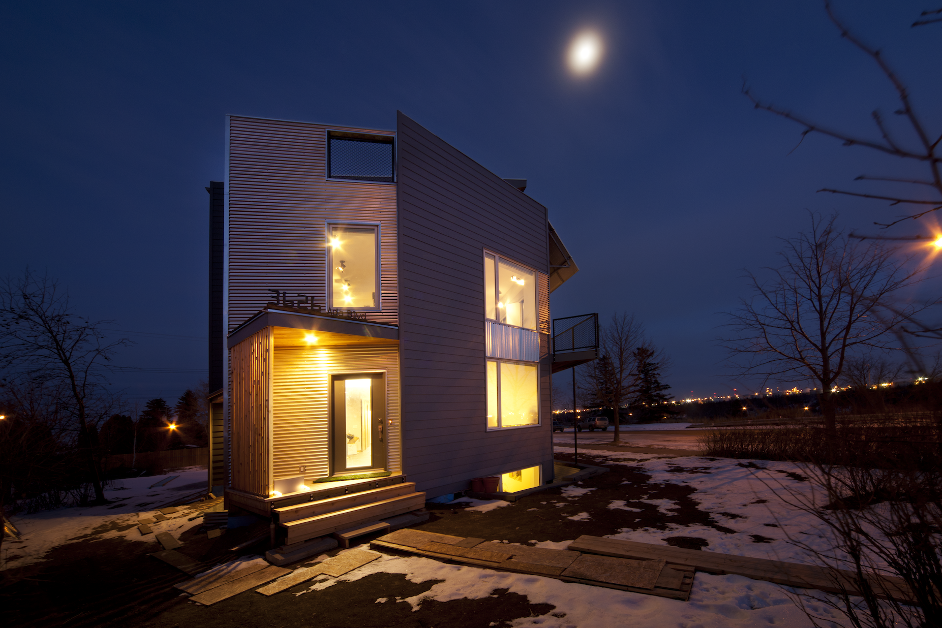 Beverly Heights House, Edmonton. Our own experiment on ourselves for net zero energy living!