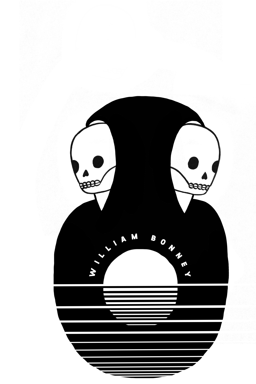 custom grim reaper gemini hand painted design william bonney band by em randall