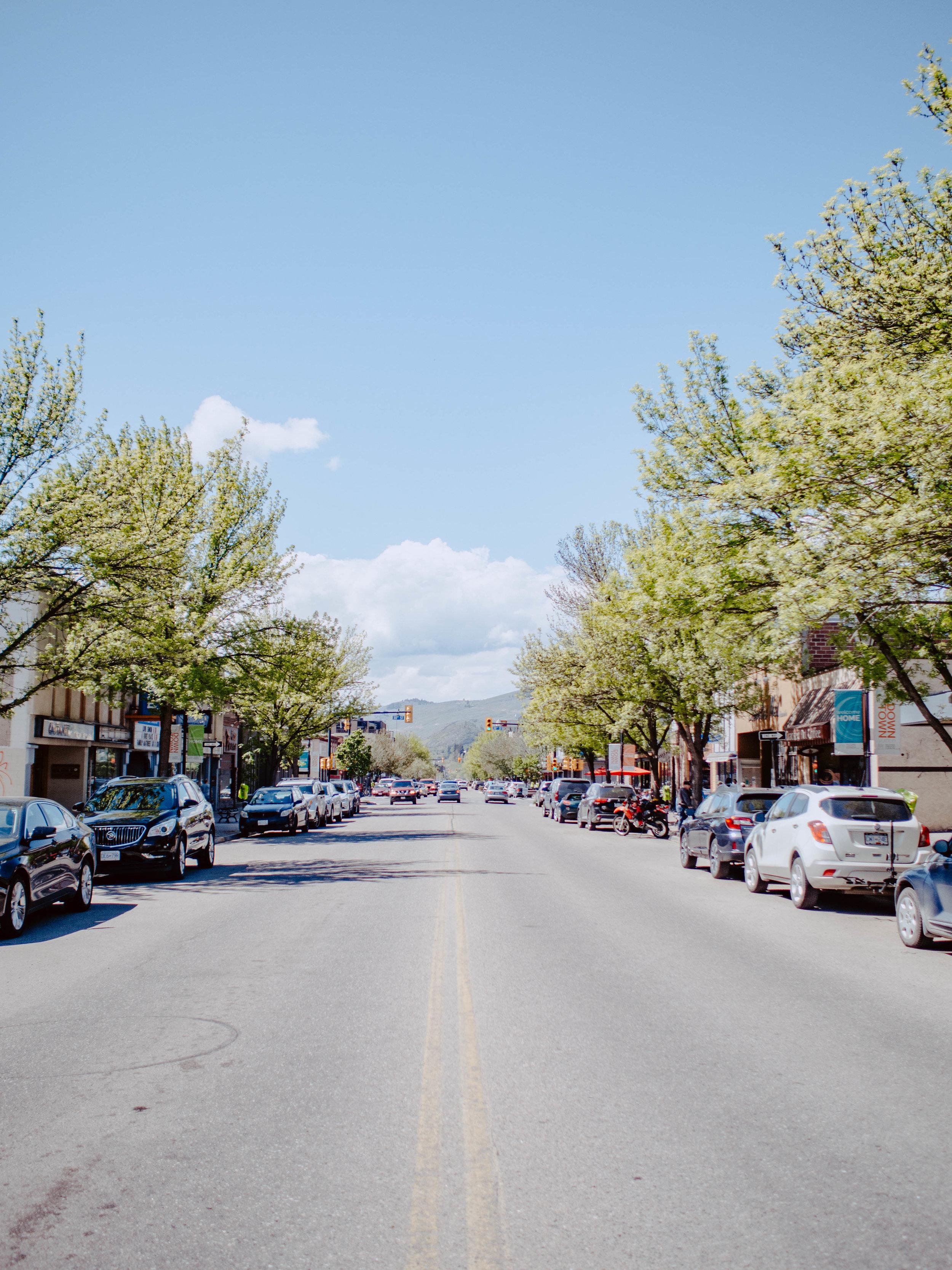 Downtown Vernon