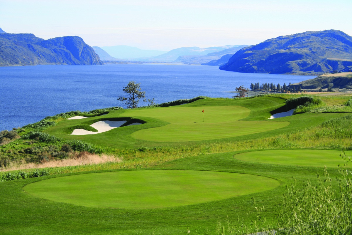 Tobiano Golf Course/Kamloops Lake
