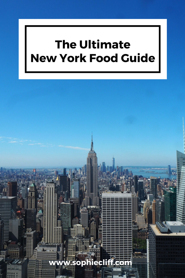 The Ultimate New York Food Guide