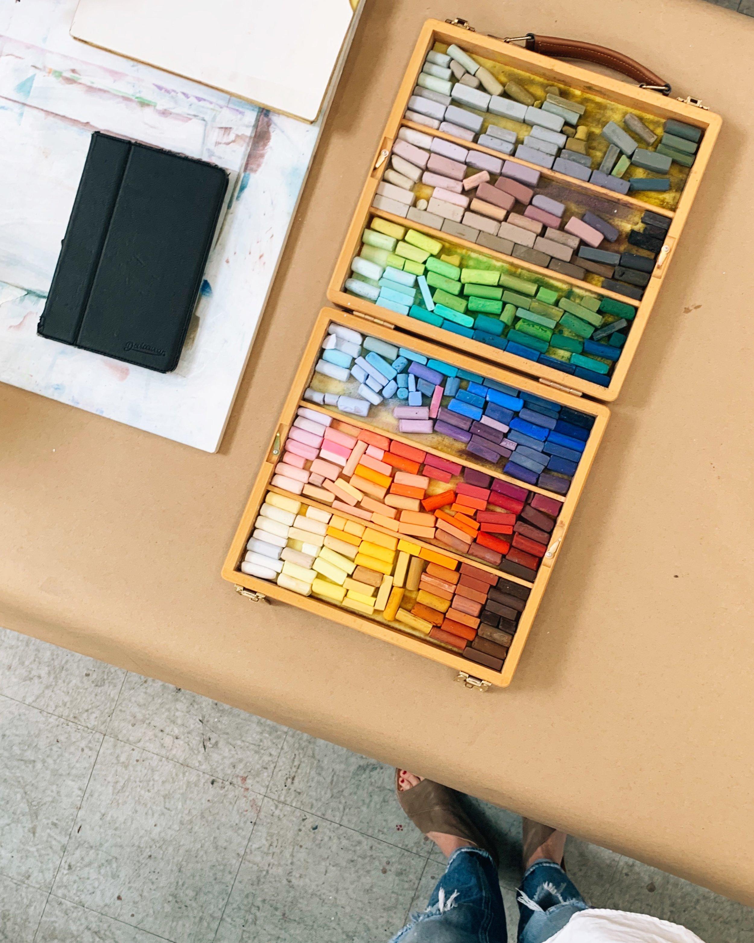 newport art museum pastel class.jpg