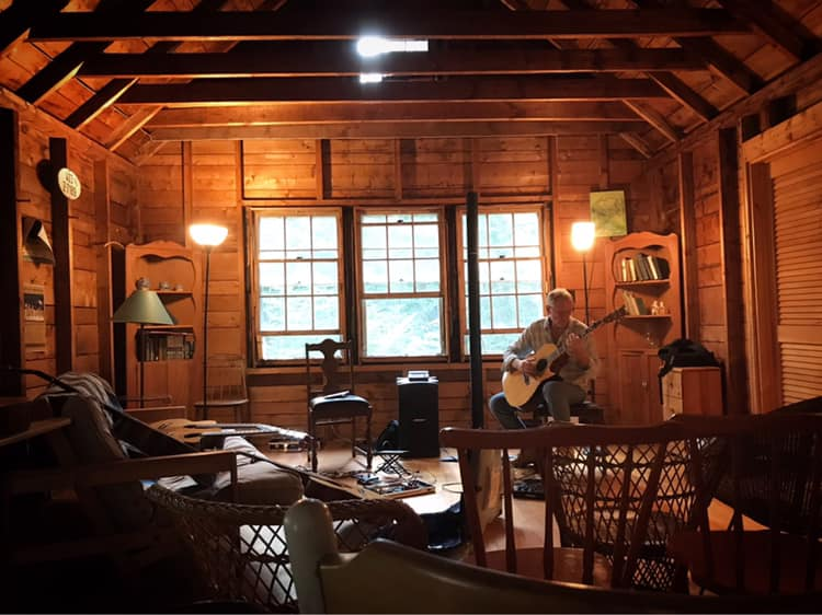 House Concert in New Hampshire