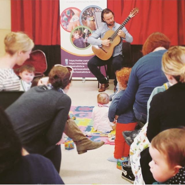 Playing some nice relaxing music for kids:) #guitar #strings #instrumental #corkweddingcrew #weddingsireland #weddingideas #weddinginspo #bmus #artsfestivals #weddingplanning #bridetobe #guitarmusic #irishweddings #weddingmusic #receptionmusic #festivalmusic #guitarmusic #guitarfestival #musicfestival #highhorseevents