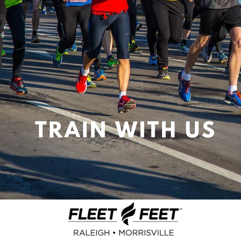 Fleet Feet Raleigh Running Club Promotion