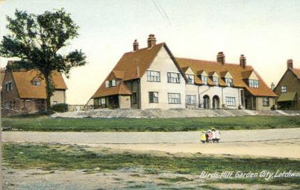 Raymond Unwin und Barry Parker, Letchworth Garden City (ab 1903).