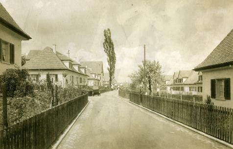 Fritz Reiber, Etappen I und II der FGZ, Zürich Friesenberg (1924–1928).
