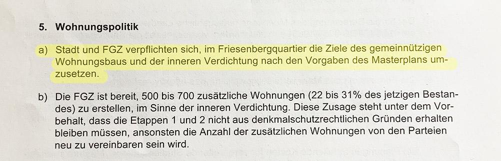 Auszug aus dem Rahmenvertrag (bereinigte Fassung) vom 3. Mai 2019), Seite 4.