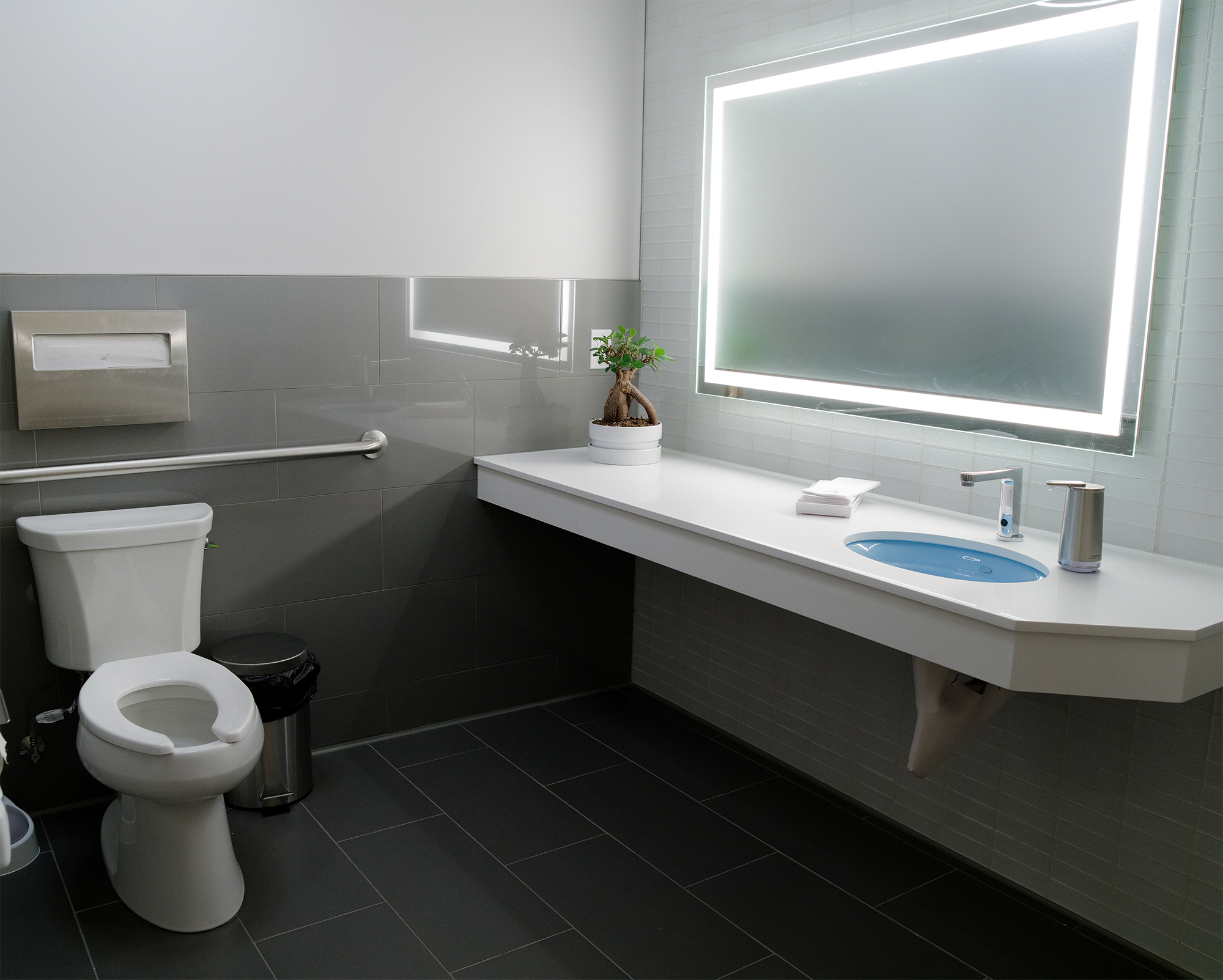Private patient washroom