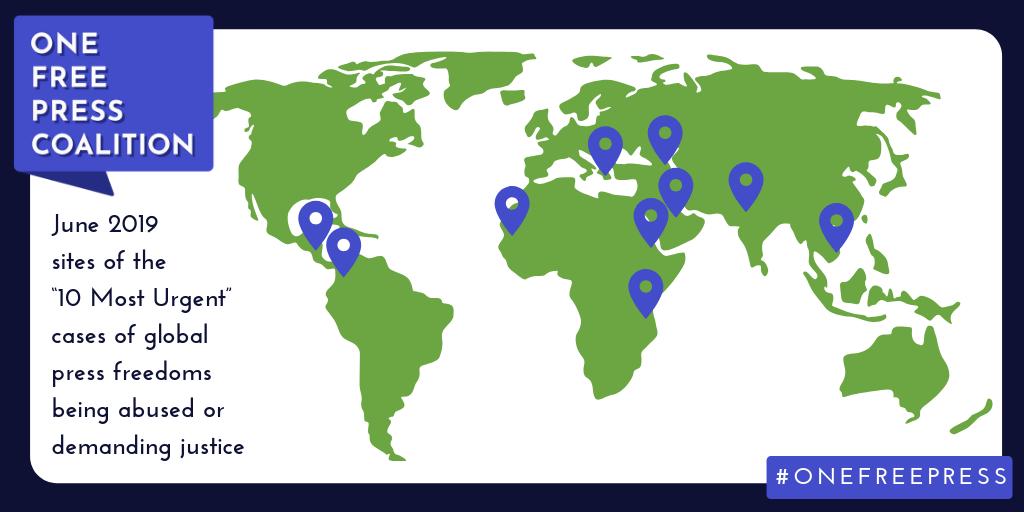 Map - 10 Most Urgent - June 2019.png