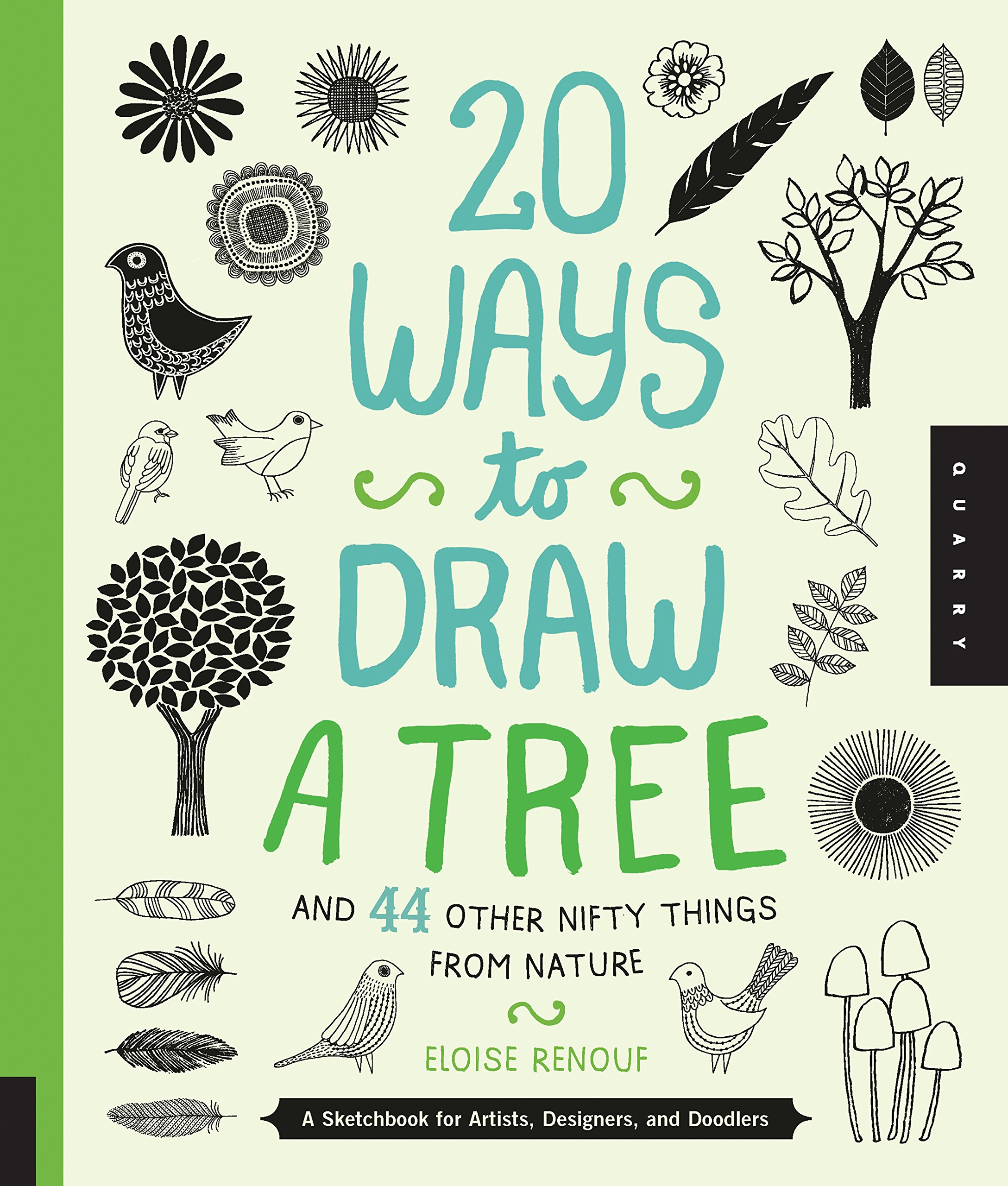 Book: Twenty Ways to Draw a Tree by Eloise Renouf via www.angelamaywaller.com