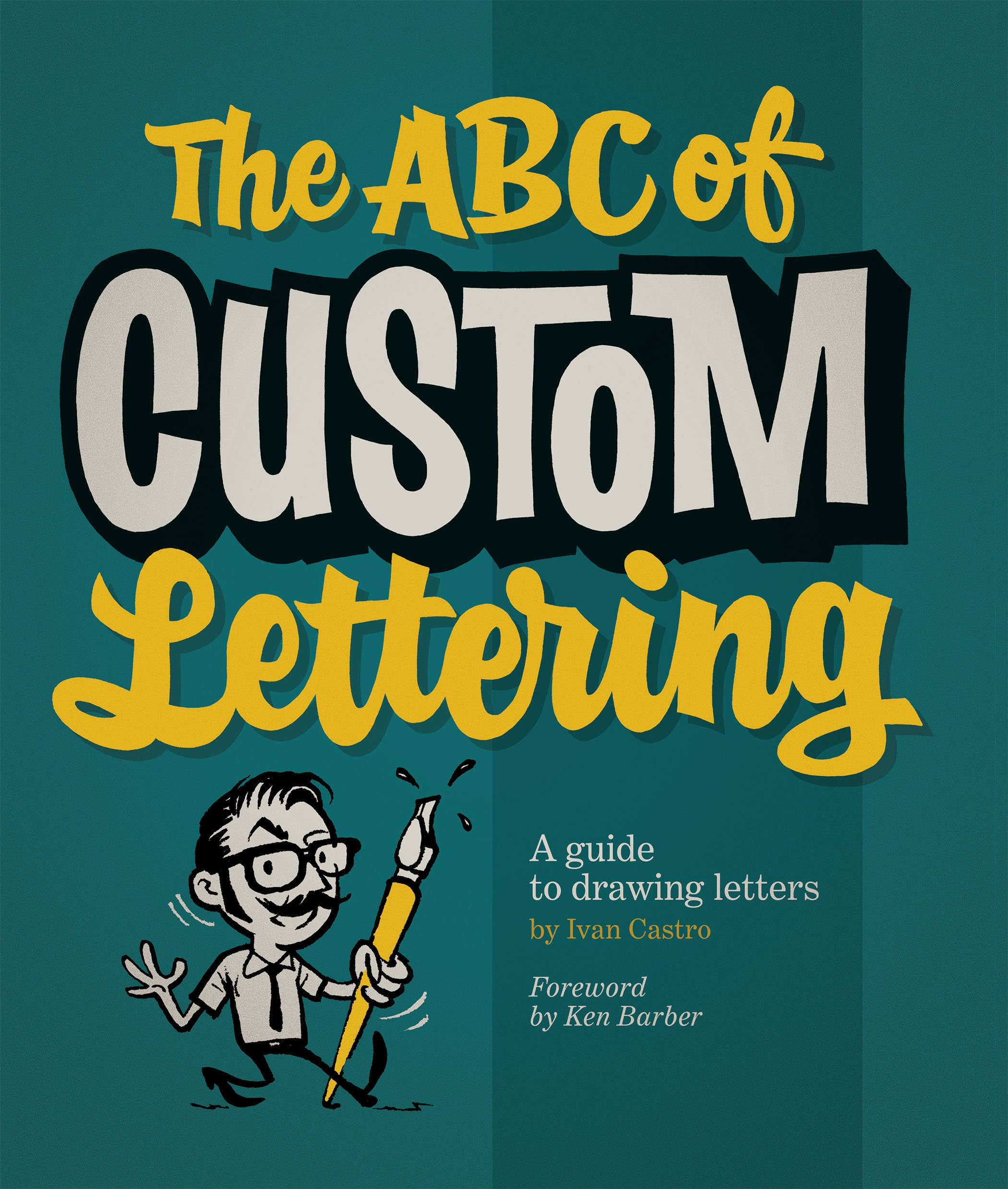 Book: The ABC of Custom Lettering via www.angelamaywaller.com