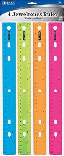 BAZIC Jeweltones Color Ruler via www.angelamaywaller.com
