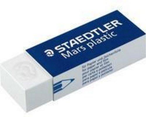 Staedtler Mars Plastic White Vinyl Eraser via www.angelamaywaller.com