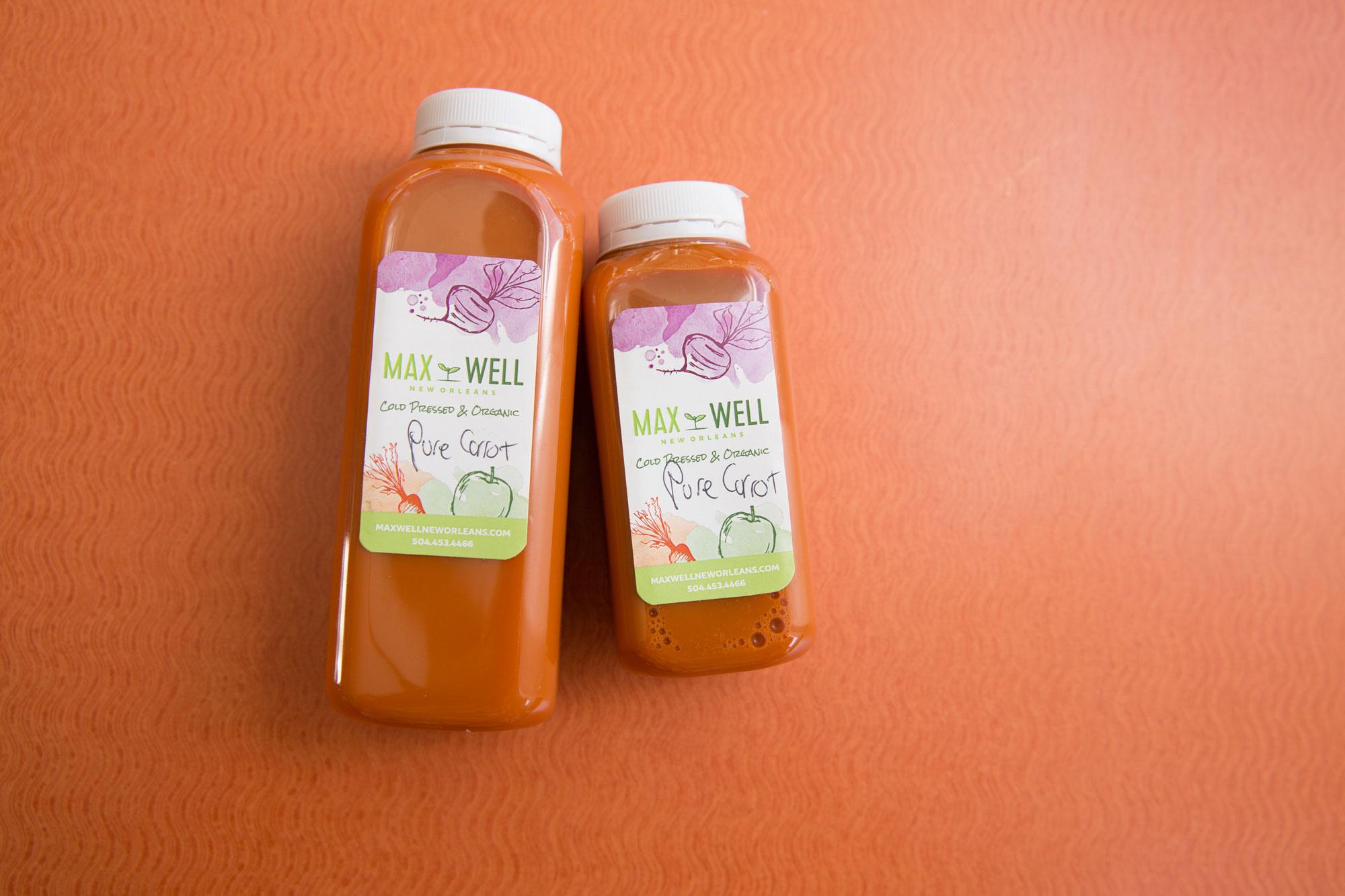 Pure Carrot Fresh Juice