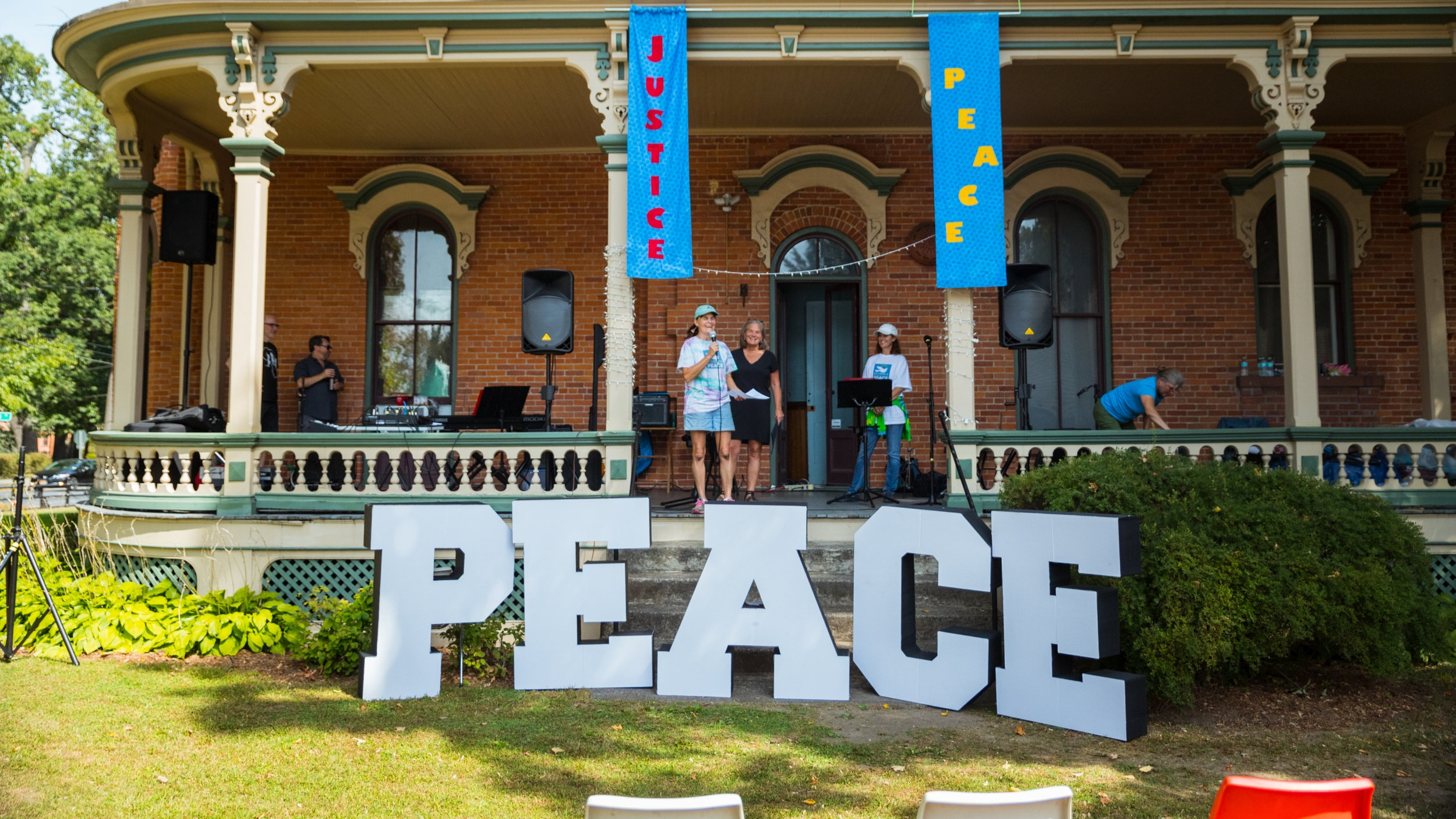 Peace Week - Peace Week is a Saratoga Springs-wide week of events promoting peace in our community and in our world. Peace Week kicks off with the Peace Fair, held at the PNECC.  Take a look at the vendors participating in the Peace Fair and a list of events held during the week!