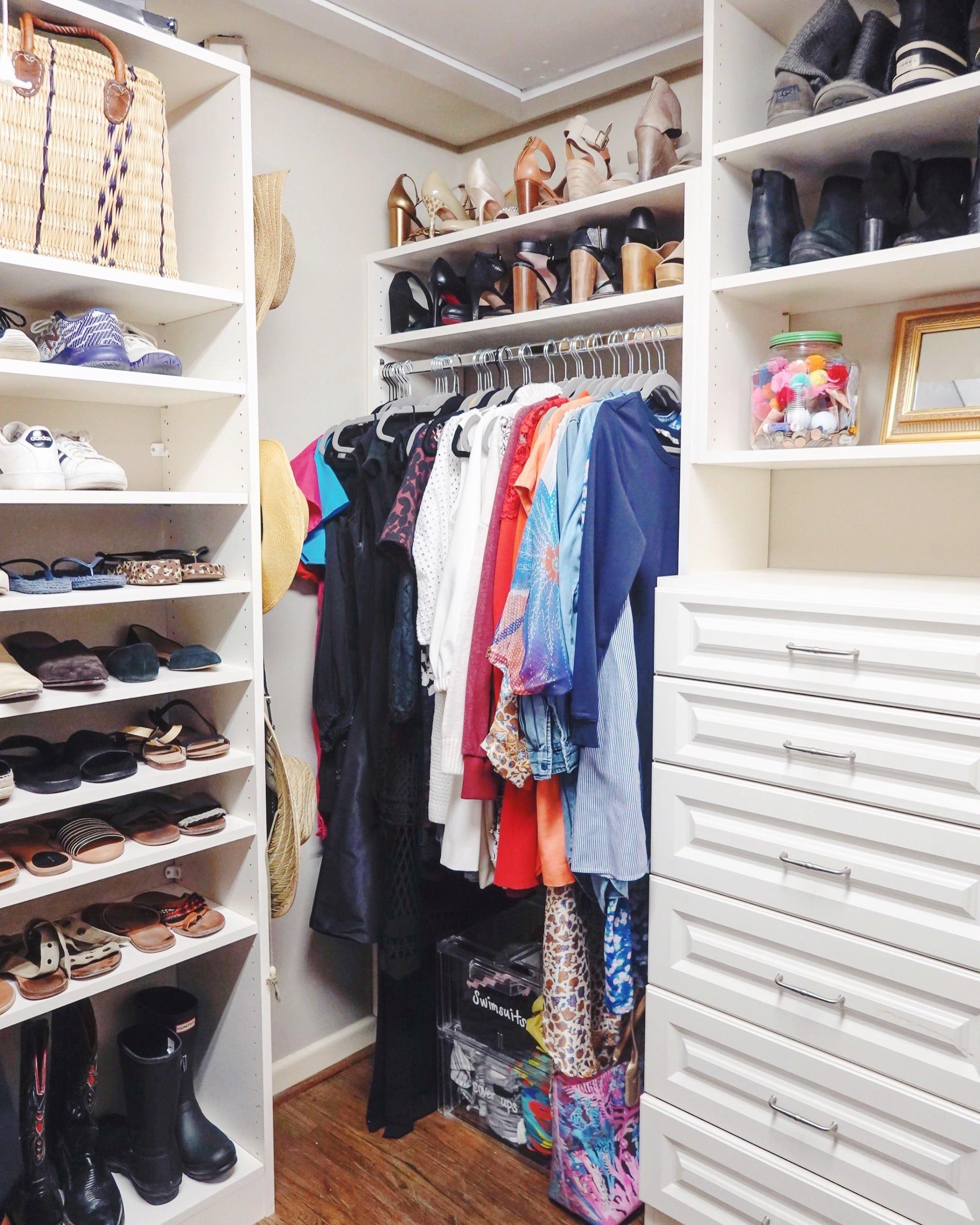 Dallas organizers, Life Refined, closet organization