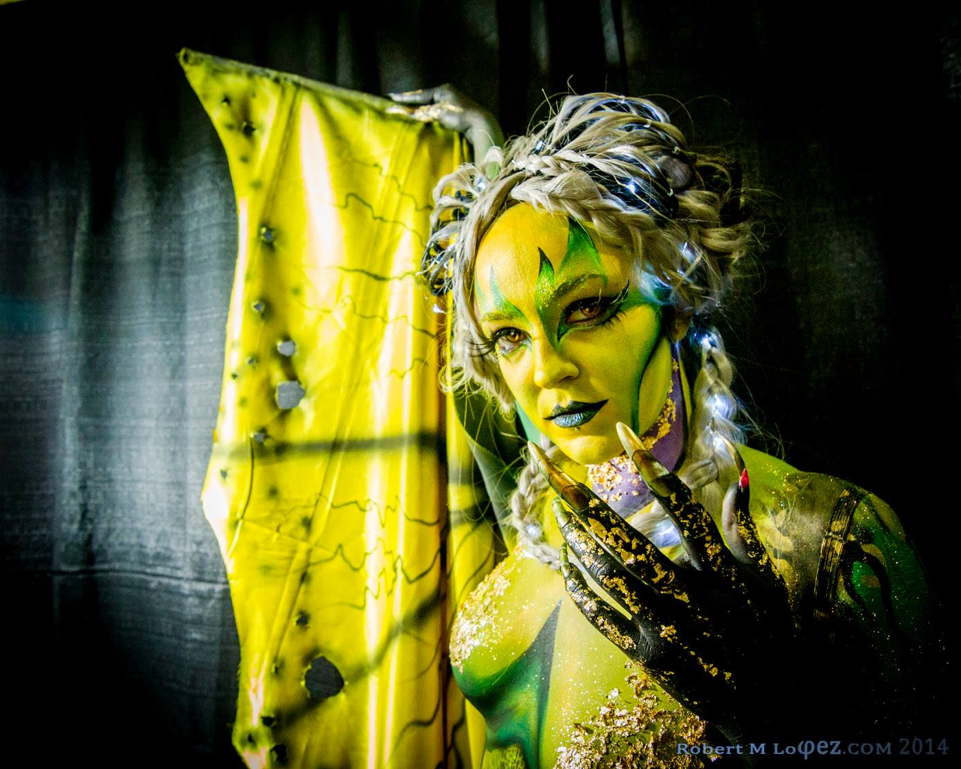 character body painting
