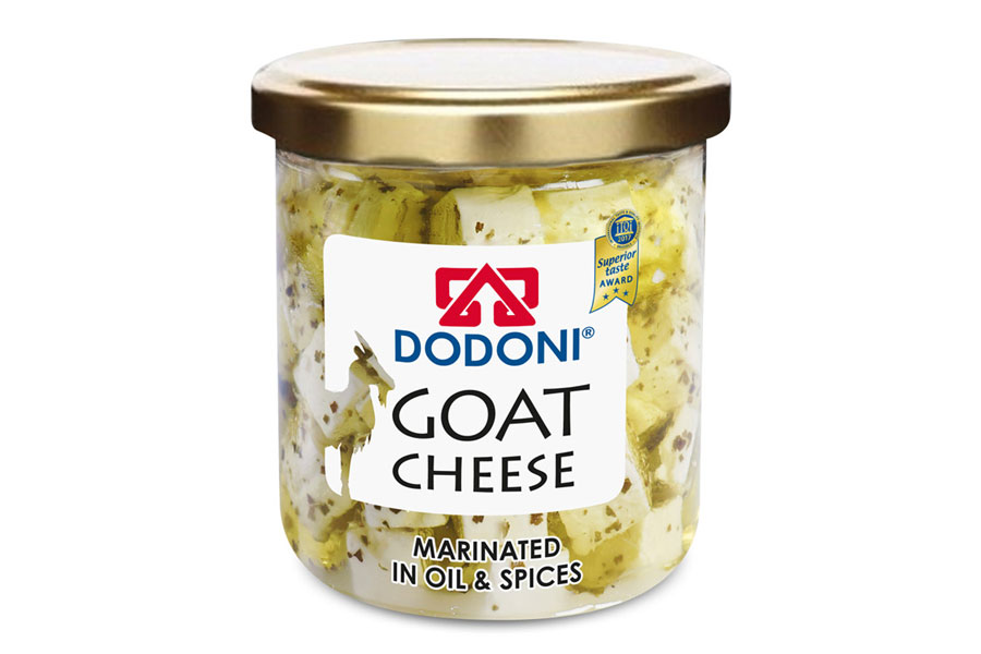 DODONI Goat Cheese Marinated in Oil & Spices