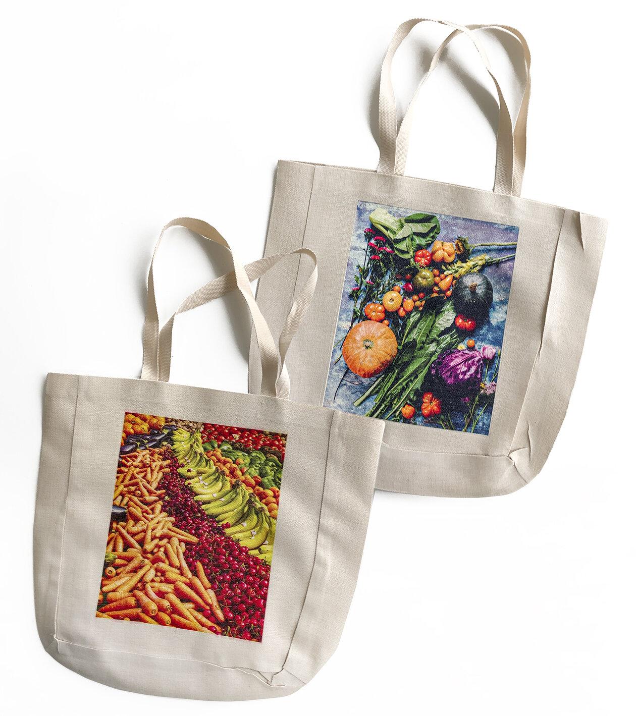 15x15 reusable Linen Bags