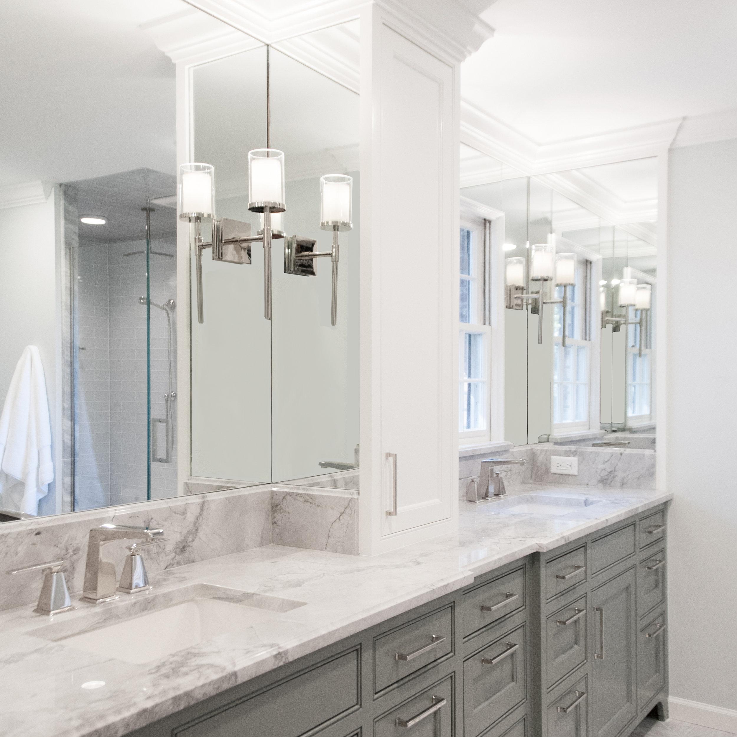 Clean & Classic Master Bathroom -