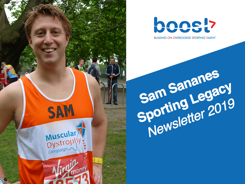 Sam Sananes Sporting Legacy Newsletter 2019 -