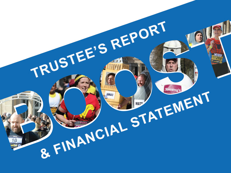 Trustee's Report & Financial Statement -